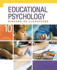 Educational Psychology : Windows on Classrooms, Enhanced Pearson EText with Loose-Leaf Version -- Access Card Package by Paul D. Eggen and Don P. Kauchak (2014, Ringbound / Mixed Media)