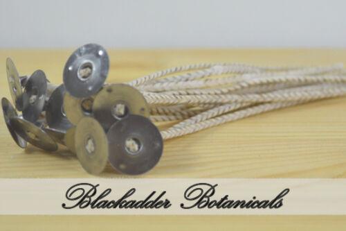 80mm Diametre burn Blackadder Candles Soy  Wick