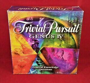Trivial Pursuit Genus IV Edition Game Great Shape