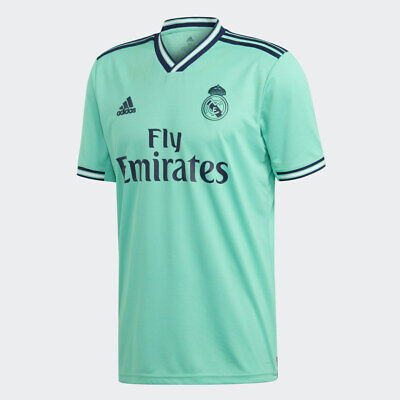 promo code 16ae0 50ae6 adidas Real Madrid Official 2019 2020 Third Soccer Football Jersey | eBay