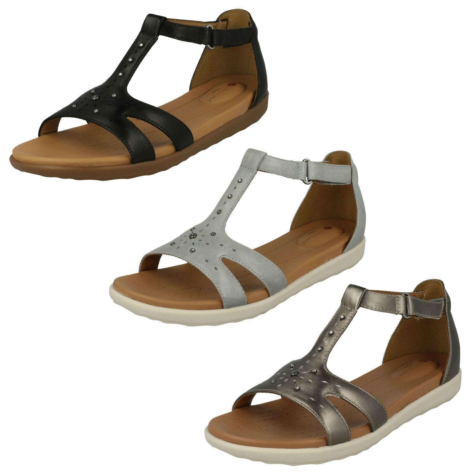 Signore Clarks ONU Sandalo Sandalo Sandalo Con Cinturini ONU Clarks reisel Mara   7e5af4