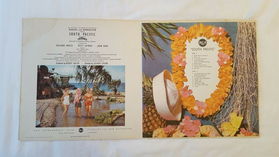 LP, Rodgers & Hammerstein´s, South Pacific
