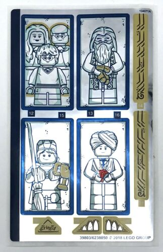 Lego New Sticker for Set 75954 Sheet 2 Mirrored Hogwarts Great Hall