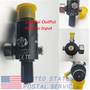5-8-039-039-18UNF-Thread-Paintball-Valve-Regulator-4500psi-HPA-Air-Tank-Output-1200psi