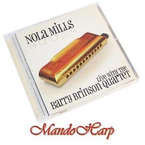 Audio-CD-Nola-Mills-Live-with-Barry-Brinson-Quartet
