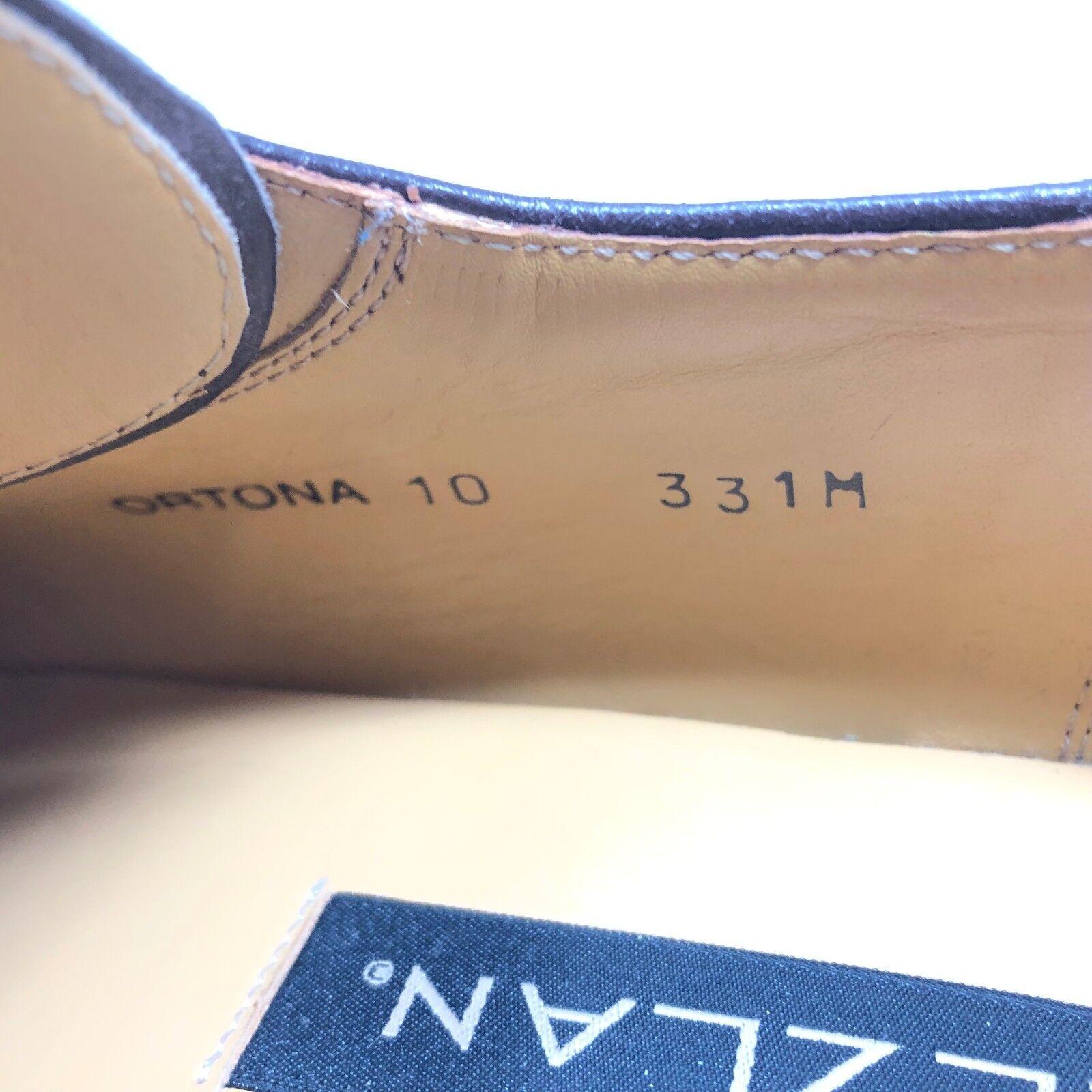 Mezlan ORTONA Oxford Oxford Oxford braun Suede Leather Square Toe Casual schuhe Mens Größe 10 587a01