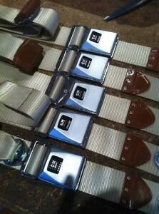 FORD-FALCON-XR-XT-XW-XY-GT-GS-HK-HQ-HZ-HOLDEN-MONARO-RESTORED-SEATBELTS-BLACK