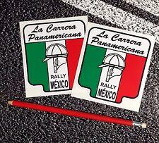 La Carrera Panamericana Stickers Road Race f1 Lemans Targa Florio Mille Miglia