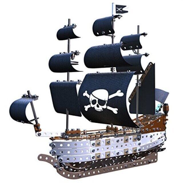 Meccano Elite Pirate Ship Ship Ship Model Set 3499d3