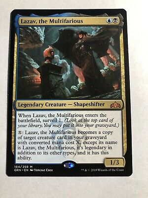 Pack Fresh! Guilds of Ravnica Mythic Rare the Multifarious x 4 Lazav
