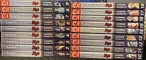 Samurai Deeper Kyo 1-18 Manga 2, 3, 4, 5, 6, 7, 8, 9, 10, 11, 12, 13, 14, 15, 16