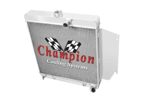 3 Row Reliable Champion Radiator for 1965 1966 Plymouth Valiant Slant 6 Engine