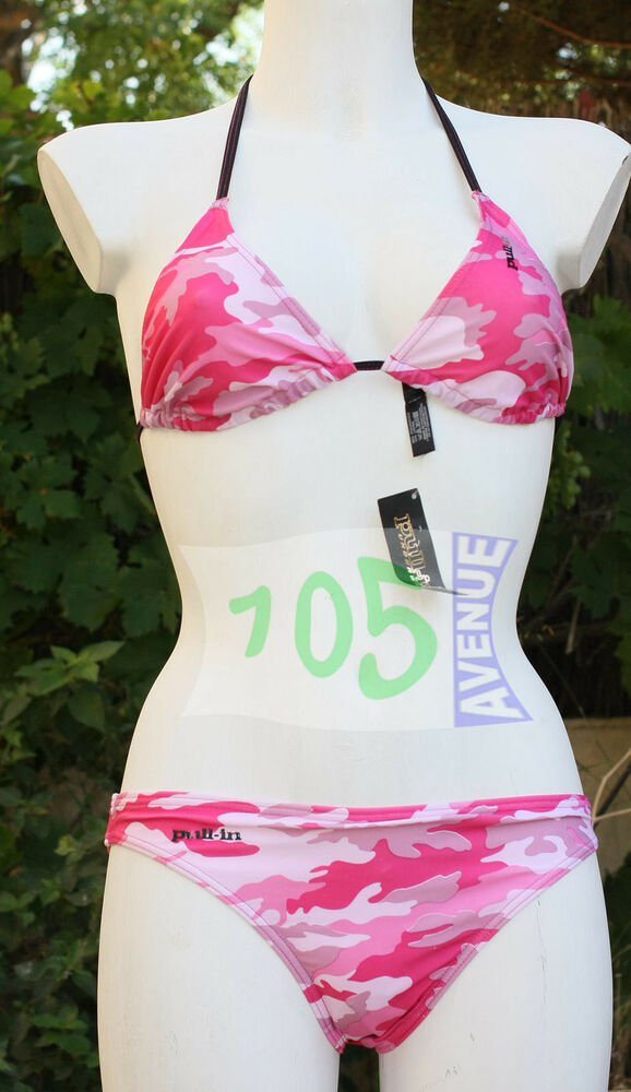 Neuf @@ Maillot 2 Pieces Bikini Triangle + Pull In + L