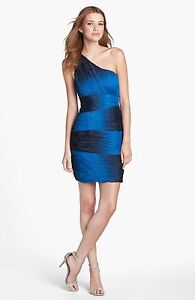 Max And Cleo By Bcbg Sparkle Glitter Ombre Ruched One