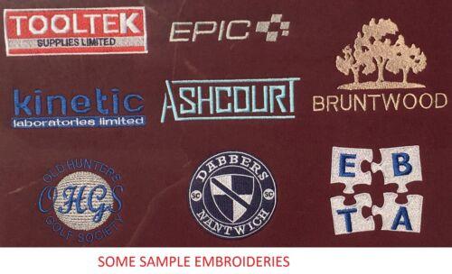 Personalised Embroidered Mens//Ladies Black Sweatshirt,Text,Name,Company Logo