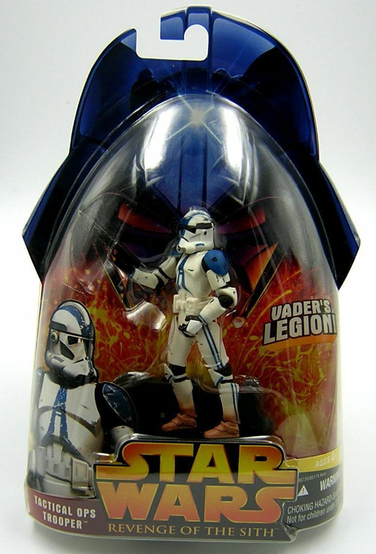 Star Wars Revenge of Sith Sith Sith redS Tactical Ops 501st Legion Trooper 1st Release 566870