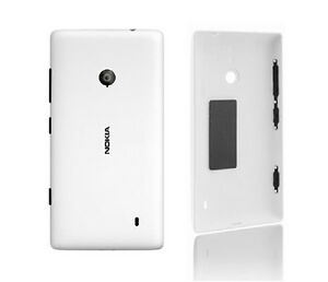 new product ddf18 5d63b Details about New Original Nokia lumia 520 Housing Battery Back Cover Rear  Shell Case White
