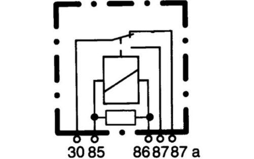 HELLA Relais Pour MERCEDES-BENZ CLASSE B SLK S E C A CITROEN C2 4RD 007 794-021