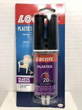Loctite 1363118 Epoxy Plastic Bonder 085 Fl Oz Syringe New Stock