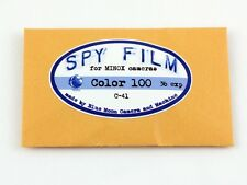 185306  Spy Film for MINOX Cameras- Color C-41 100 Speed, 36 exposure