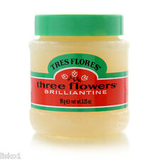 Tres Flores Three Flowers Brilliantine hair Pomade 1- 3.25 oz.