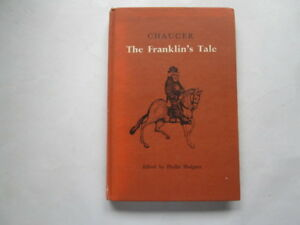 Acceptable-The-Franklin-039-s-Tale-Chaucer-Geoffrey-1961-01-01-1965-impression