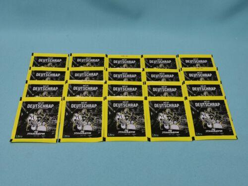 PANINI c/'est Deutschrap sticker 20 Pochettes//100 Stickers