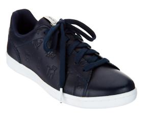 ED Ellen DeGeneres Printed Leather Sneakers Womens Chaboss Lagoon Animal 11W
