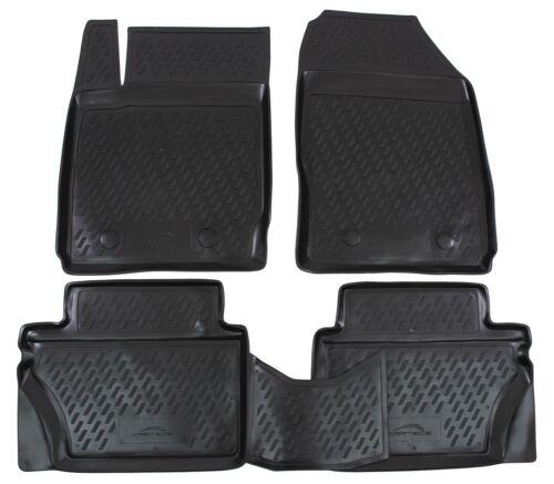 Kofferraumwanne SET für Ford Fiesta Schrägheck 2008-2011 3D Design Gummimatten