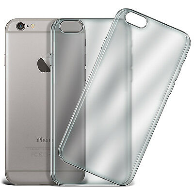 Twin Value Pack - Ultra Thin Clear TPU Gel Skin Case Cover for Various Phones