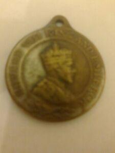 Coronation-Souvenir-Edward-VIII-1937-King-and-Emperor-medal-pendant