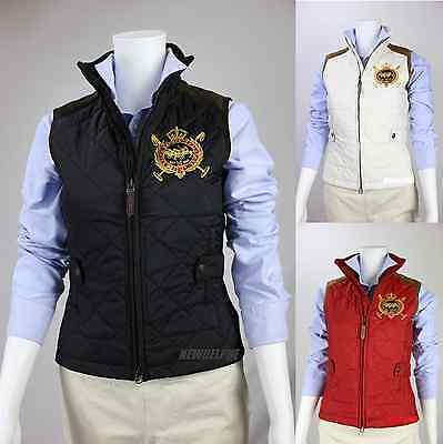 polo vest for women