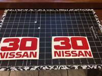 Forklift Decal, Nissan 30 Forklift Mast Vinyl Decal Set Of 2 Decals