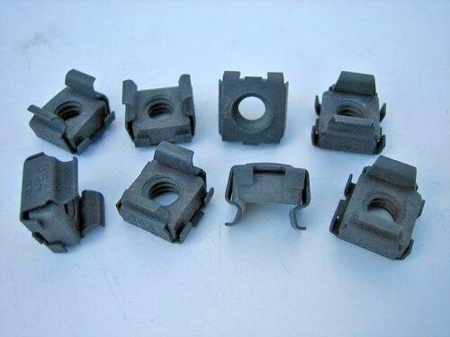 """Panel Range .064-105 Phosphate Plated 3//8/"""" Hole 1//4/""""-20 Cage Nuts 25"""