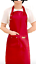 Women-Cooking-Kitchen-Restaurant-Cafe-Uniforms-Canvas-Apron-Dress-with-Pocket thumbnail 14