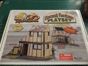 Ultimate-Soldier-WWII-XD-Normandy-Farmhouse-1-18-Playset-FACTORY-SEALED-NEW