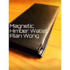 Leather Magnetic Himber Wallet by Alan Wong - Trick Street Card Magic Mentalism