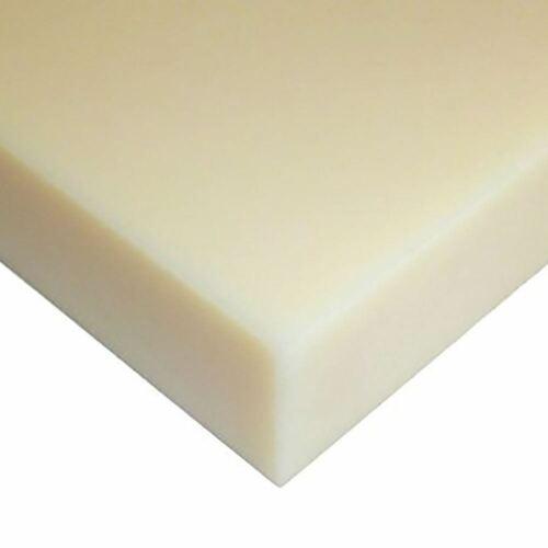"Natural x 3/"" x 48/"" 3//4 Nylon 6//6 Plastic Sheet 0.750/"""