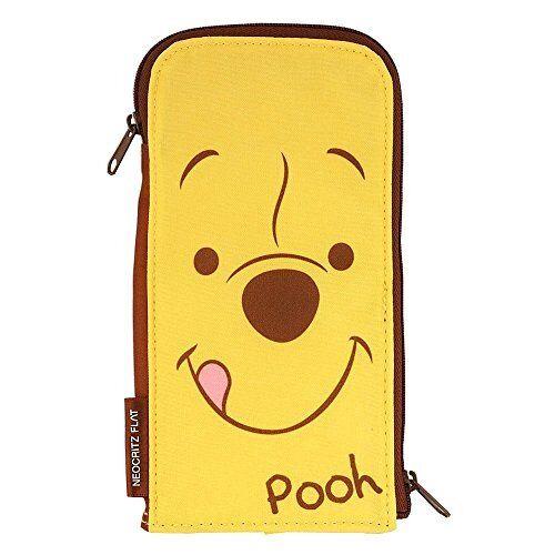 Sunstar pen case Neoku Ritz flat Pooh /& Piglet S1409131 japan
