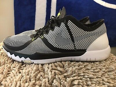 new styles 0a09c b95dc NIKE FREE TRAINER 3.0 V4, 749361-017, Black / White, Mens Running Shoes,  Size 14 886551537413 | eBay