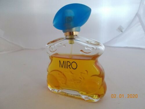 Miro Eau de Parfum Vintage Rarität  gelgb S9Bry