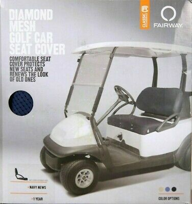 Peachy 40 033 015501 00 Fairway Golf Cart Diamond Air Mesh Seat Cover Navy 52963016055 Ebay Caraccident5 Cool Chair Designs And Ideas Caraccident5Info