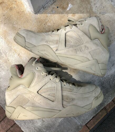 36 FILA The Cage Sneakers Beige Suede Shoes Men's Size US 10 | eBay