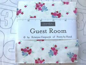 Guest-Room-by-Moda-fabric-Charm-Pack-5-x-5-034-squares-100-Cotton