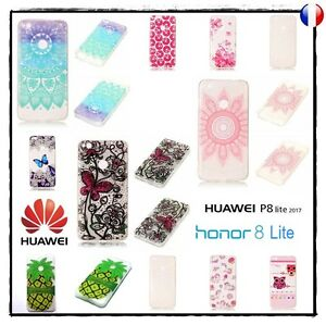Etui-housse-coque-silicone-Case-Cover-Soft-TPU-Huawei-P8-Lite-2017-Honor-8-Lite