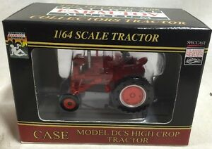 SpecCast-Case-DCS-High-Crop-tractor-2006-National-Farm-Toy-Museum-1-64-NIB