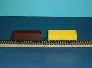Piko-HO-2-vintage-open-Coal-wagons-Ti94