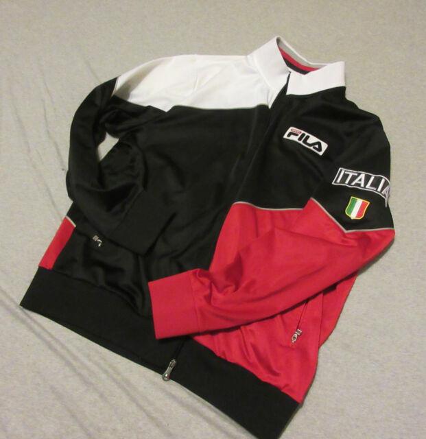 9dc6270e4ebc VINTAGE 80 S 1980 S FILA SPORT ITALY ZIP UP JACKET TRACK HIP HOP MEN L  LARGE LRG