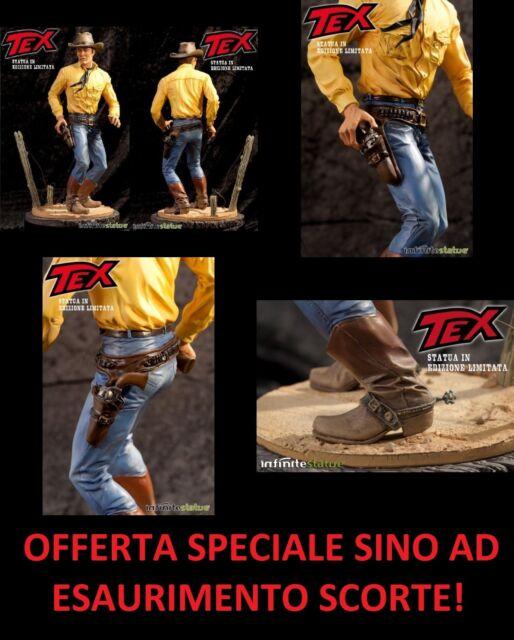 -=] INFINITE STATUE - Tex Willer Statua Limited Edition 30cm. [=- SPECIAL OFFER!