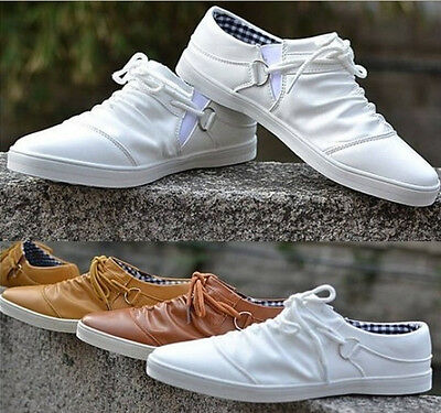 New Fashion Korean Mens Leather shoes Breathable Slip loafer Leisure Shoes Sm27